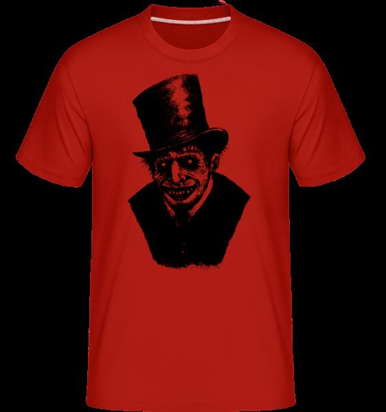 Zombie Gentleman -  T-Shirt Shirtinator homme - Rouge - Devant