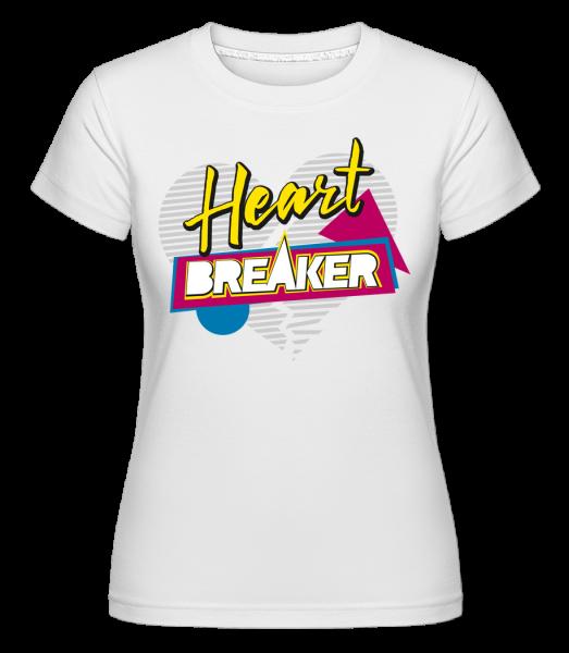 Heart Breaker - T-shirt Shirtinator femme - Blanc - Devant