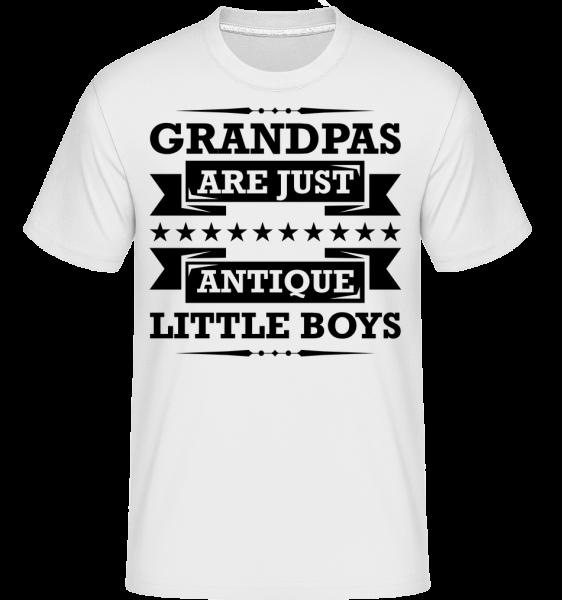 Grandpas Antique - T-Shirt Shirtinator homme - Blanc - Devant