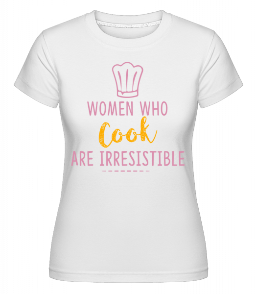 Women Who Cook - T-shirt Shirtinator femme - Blanc - Devant